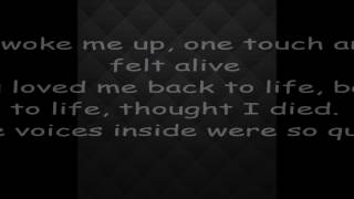 LOVE ME BACK TO LIFE LYRICS by SIA