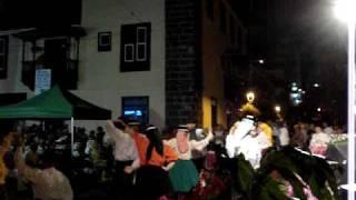 Canarian Dancers and Singers Puerto de la Cruz, Tenerife Oct 2009