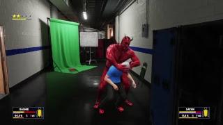 WWE 2K18 Dashie Vs. Satan width=