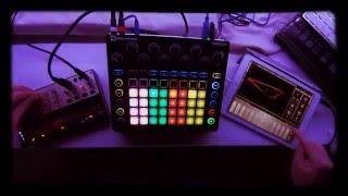 Moderat - A New Error - Cover (Novation Circuit, Korg Volca Keys, Animoog, iMini, Fugue Machine)