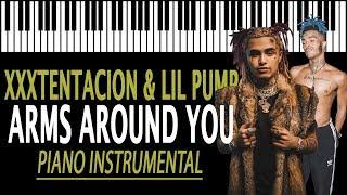 XXXTENTACION & Lil Pump - Arms Around You KARAOKE  ft. Maluma, Swae Lee (Piano Instrumental)