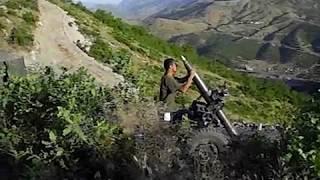 Havan Atışı 120mm Yakın Çekim