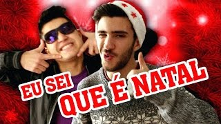 Eu Sei Que É Natal | Sousa feat. Hugo Lopes - Mistletoe (Paródia)