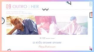 [Karaoke-Thaisub] Outro : Her - BTS(방탄소년단) #89brฉั๊บฉั๊บ