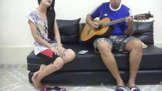Agora te vejo   cover by Mayara and Jonh