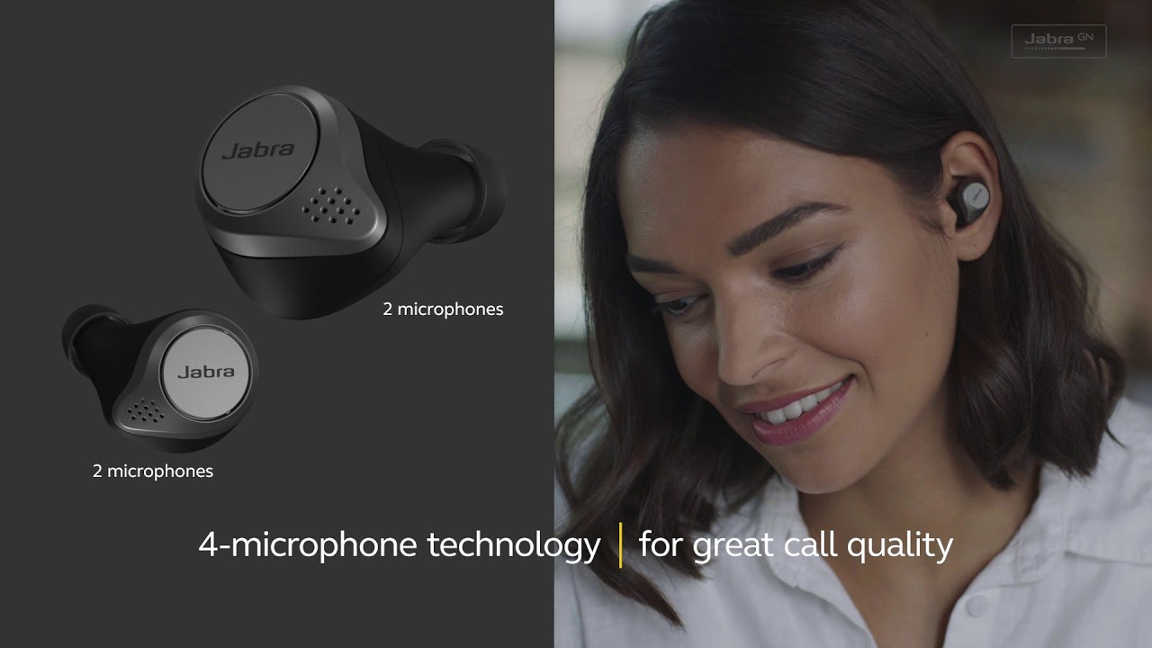 Jabra Elite 75t - Engineered to last longer. Designed to fit better.