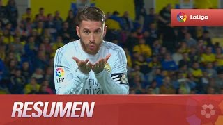 Resumen de UD Las Palmas (1-2) Real Madrid