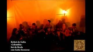 Musica Celta, Colombia. Keltoi de Galia. Set de Reels con Gaita Escocesa.