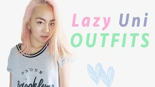 Back to Uni/College Outfits (for the lazy people)