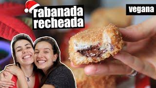 RABANADA RECHEADA FÁCIL , CROCANTE E MUITO DA MARAVILHOSA | TNM Vegg