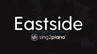 Eastside (Piano Karaoke Instrumental) benny blanco, Halsey & Khalid