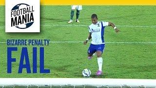Bizarre penalty FAIL! Müller Fernandes - Santo André 0x1 Goiás