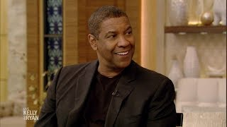 Denzel Washington Talks About How He Met His Wife