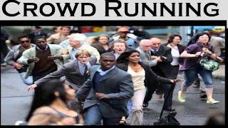 CROWD SCREAM & RUN SOUND EFFECT  ► HD QUALITY