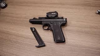 MY FIRST 22 -- RUGER MKIV 22/45 SPACE GUN