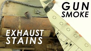 How to: Realistic Exhaust Stains and Gun Smoke