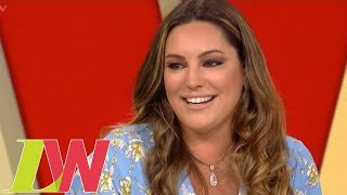 Kelly Brook Defends Altering Her Body Shape in Her Photos | Loose Women width=
