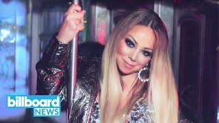 Mariah Carey Takes Glam Subway Ride in New 'A No No' Music Video | Billboard News