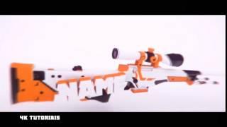 FREE Sniper CSGO AE + C4D Intro Template  #8 ☾4K☽