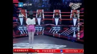 Beautiful Angel by Dingding  Audition 2 The Voice of China 1
