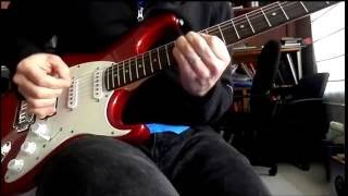 Cort G210 Strat-styled electric guitar demo/review
