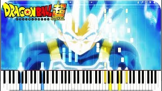 Dragon Ball Super OST - Genki Dama (Vegeta's Limit Break Form) | Piano Tutorial