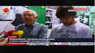 Entrega Taça de Campeão Nacional ao Mundo Sporting