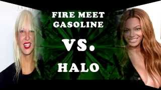 Beyoncé - Halo vs. Sia - Fire Meet Gasoline MASHUP MIX 2in1
