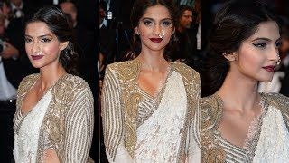 Finally! Sonam Kapoor looks superb first after marriage at Cannes Film Festival 2018