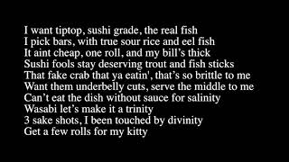 Elsewhere - Sushi Pit Stop (Gucci Flip Flops Parody)