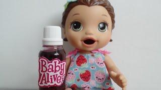 Como fazer remédio para Baby Alive e outras bonecas!