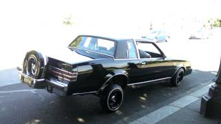 Clean Buick Regal Lowrider in Paris