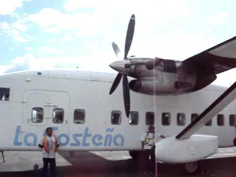 plane to big corn island, nicaragua