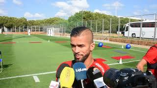 Mehdi Carcela : J'ai fait une bonne saison pour pouvoir venir ici