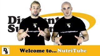 Welcome To NutriTube The Discount Supplements YouTube Channel