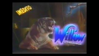 Willow - Na Terra da Magia (1988) - Chamada Tela Quente Inédito - 03/01/1994