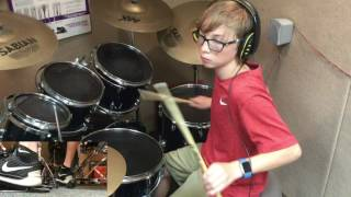 Chad - Kongos - Come With Me Now - Drum Cover