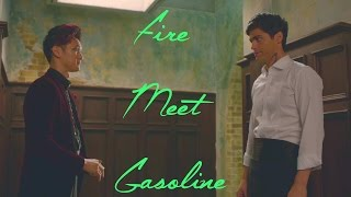 Magnus and Alec | Shadowhunters | Fire Meet Gasoline