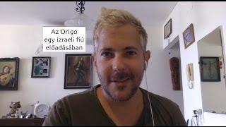 """me singing """"Origo"""" / Az Origo egy izraeli fiú előadásában"""