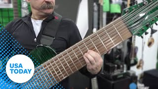See the world's most expensive guitar