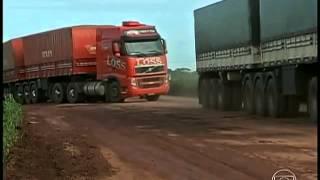 Agricultores de Mato Grosso têm dificuldades para levar a soja e o milho até os portos