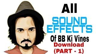 Sound Effects Of BB Ki Vines Download (Part -1)    JITENDRA KUSHWAHA  $ JK TECHNICAL $