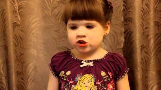 ЗДЕСЬ ПТИЦЫ НЕ ПОЮТ, поёт Марина Павленко (2,5 года)