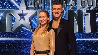 Kai and Natalia Runaway Baby ballroom dance - Britain's Got Talent 2012 Final - International