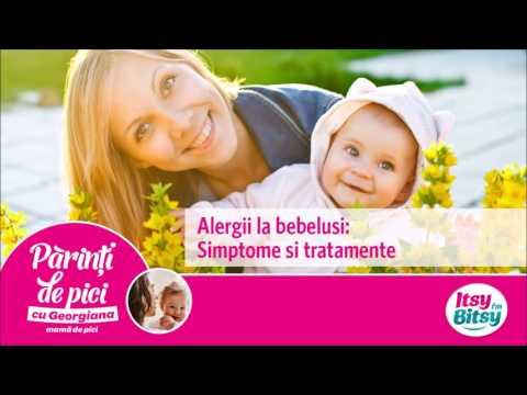 Alergii la bebelusi: Simptome si tratamente
