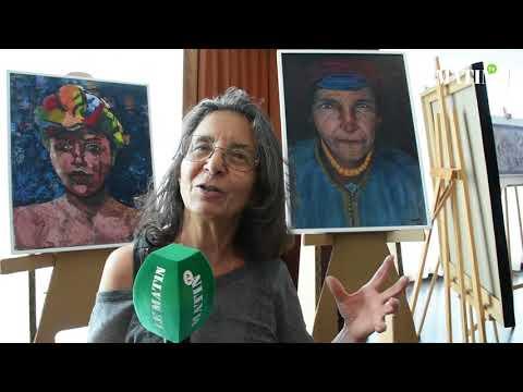 Video : Casablanca : Des artistes peintres partagent leurs inspirations avec le public