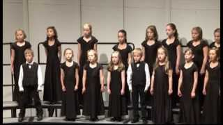 Roanoke Valley Children's Choir - How Brightly Shines the Morning Star (A Choir)