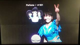 Pokemon GO! At Perfume Concert (Cosmic Explorer U.S. Tour LA)