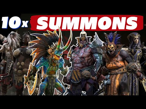 10x Summons Friday! All new champs Raid Shadow Legends boosted summons
