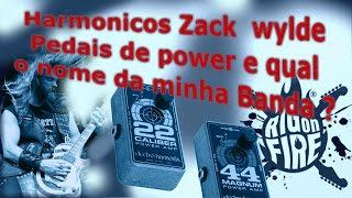 LENDO COMENTÁRIOS #02 - Pedais de power e Harmonicos do Zack wylde